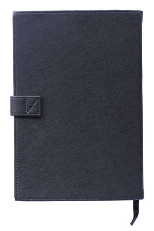 Brand new black hardcover book with blank cover - insert your own design