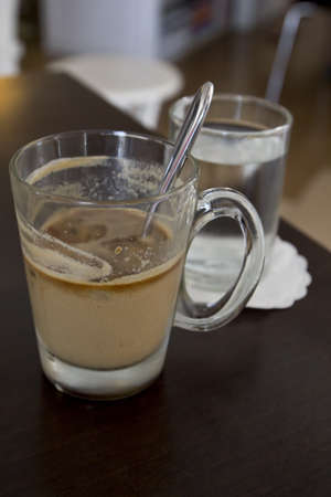 Refreshing coffee photo