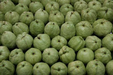 soft sell: Fresh guavas background