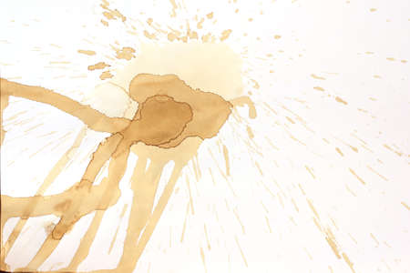 Coffee stain Stock Photo - 17969552