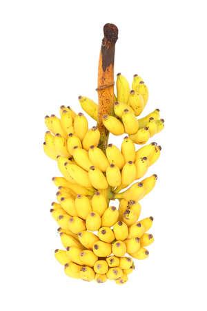 banana tree: The Banana isolated on white background Stock Photo