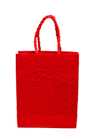 Red shopping bags Stock Photo - 23771110