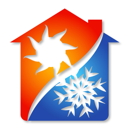 Symbol the air conditioner business, vector