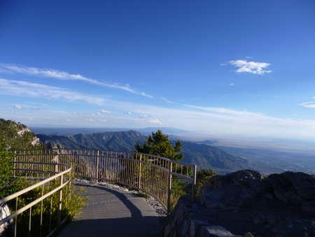 Pathway on Sandia Mountains, Albuquerque, New Mexico, United States photo