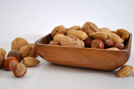 A mix of nuts