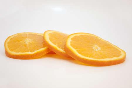 Tranches d'orange Banque d'images - 9010429