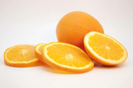 Tranches d'orange Banque d'images - 9010432