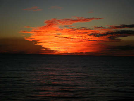 Sunset Panama City Beach photo