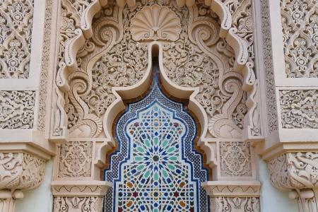 La arquitectura marroquí tradicional diseño