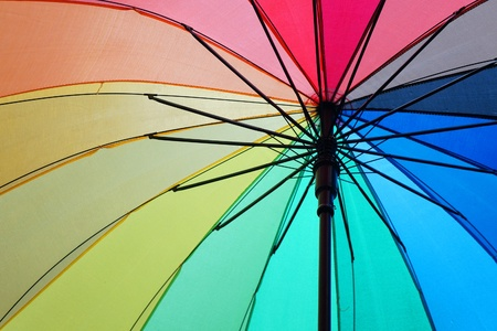 background of colorful umbrella