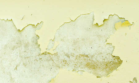 Abstract Background Of White And Green Paint Chipping Off Of.. Stock ...