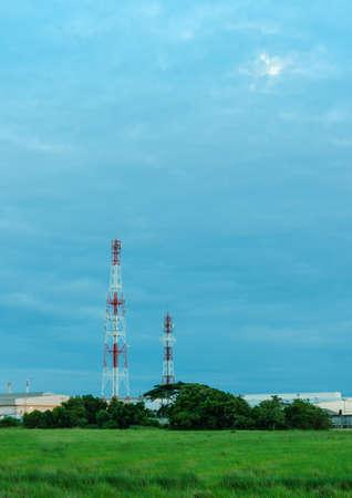 Antenna signal photo
