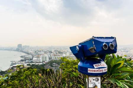 binoculars view photo