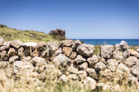 Glimpse in Egnazia, near Savelletri, Puglia Imagens