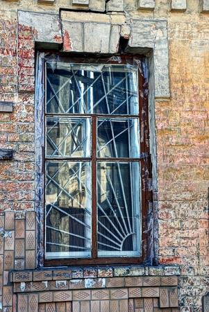 lattice window: An old window with a lattice