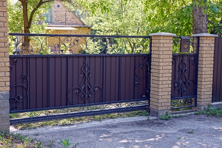 Iron Gate Stock Photos And Images - 123RF