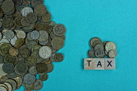 the word tax of letters