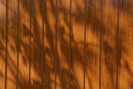 brown wooden texture of the boards in the shade Stock fotó