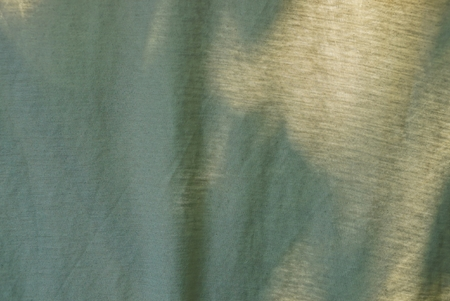 gray green fabric texture from a piece of cloth