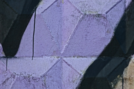 lilac black stone texture from painted concrete wall paint