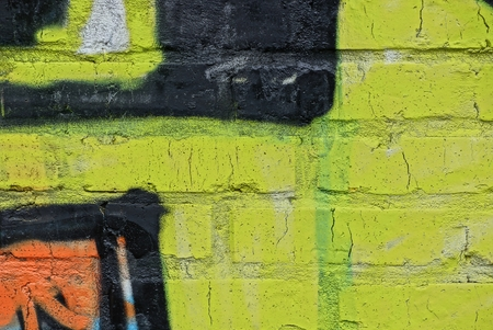 colored stone texture of bricks in paint in the wall