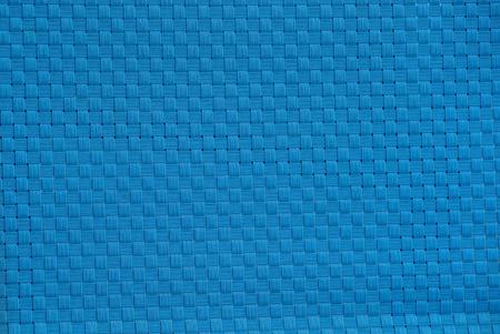 light blue plastic texture of a wicker wall Banco de Imagens