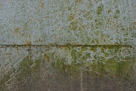 gray green rusty metal texture