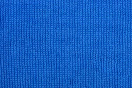 blue fabric background from a piece of microfiber cloth