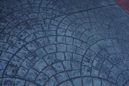 stone gray pavement texture on the road