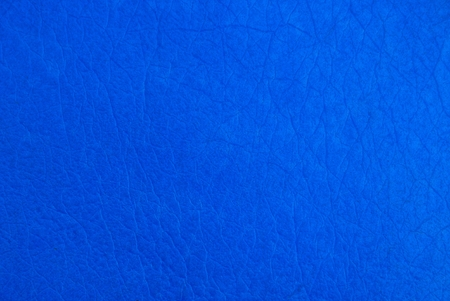 blue plastic texture from a piece of cover Stock Photo