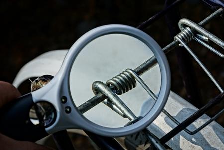 white magnifier