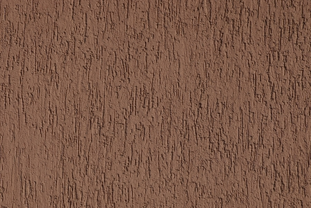 brown stucco texture on a building wall Stock Photo