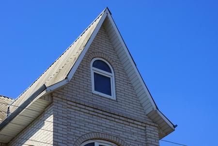 gray sky attic