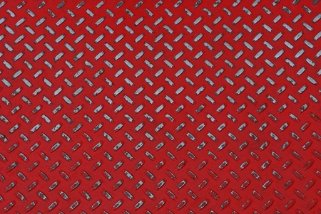 red gray metal texture from a piece of corrugated iron floor