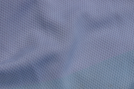 gray fabric texture from a crumpled piece of cloth Banco de Imagens