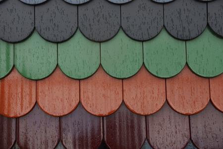texture of wet tile