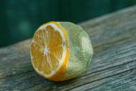lemon wooden table