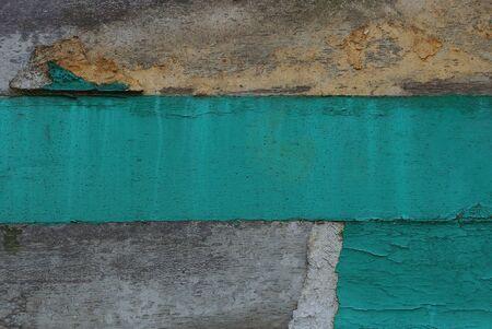 grau grün gestreifte schmutzige Wandstruktur