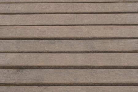 Brown wooden texture of old fence boards Stock Photo