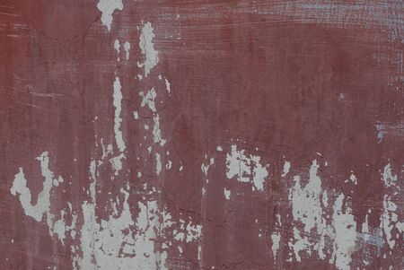 brown gray metal texture from old shabby iron fence wall 写真素材