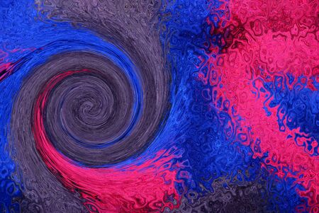color background from distortion and abstraction with twisting
