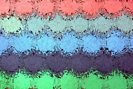 colored background from abstraction and distortion with colorful spots on the wall