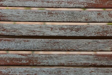 gray brown wooden background of a boards in the wall of the fence Standard-Bild - 146535361