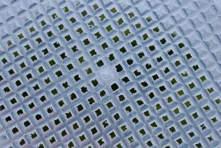 light white texture from a plastic basket lattice