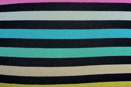 striped color fabric texture from a piece of cloth on clothes