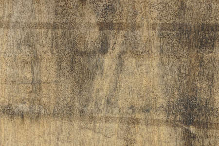 wood texture of brown plywood in gray mud in the wall Stockfoto
