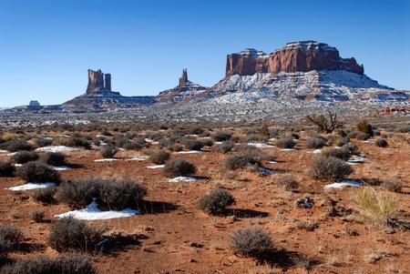john wayne: Beautiful Monument Valley in the Winter