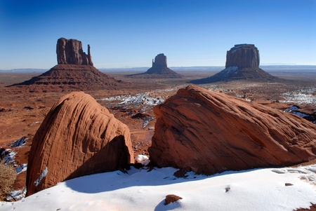 wildwest: Beautiful Monument Valley in the Winter