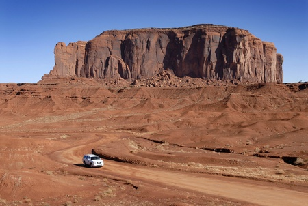 john wayne: Monument Valley Stock Photo