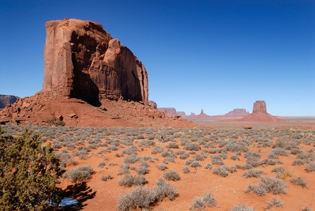john wayne: Beautiful Monument Valley in the Winter